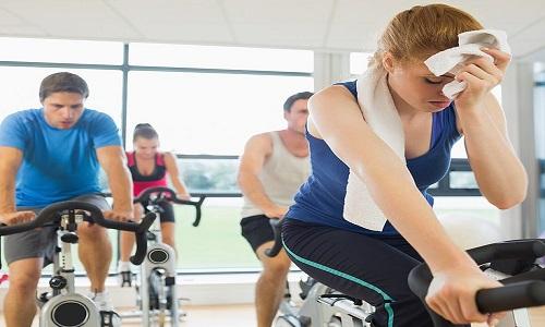 Treinar ou não treinar quando estiver gripado …
