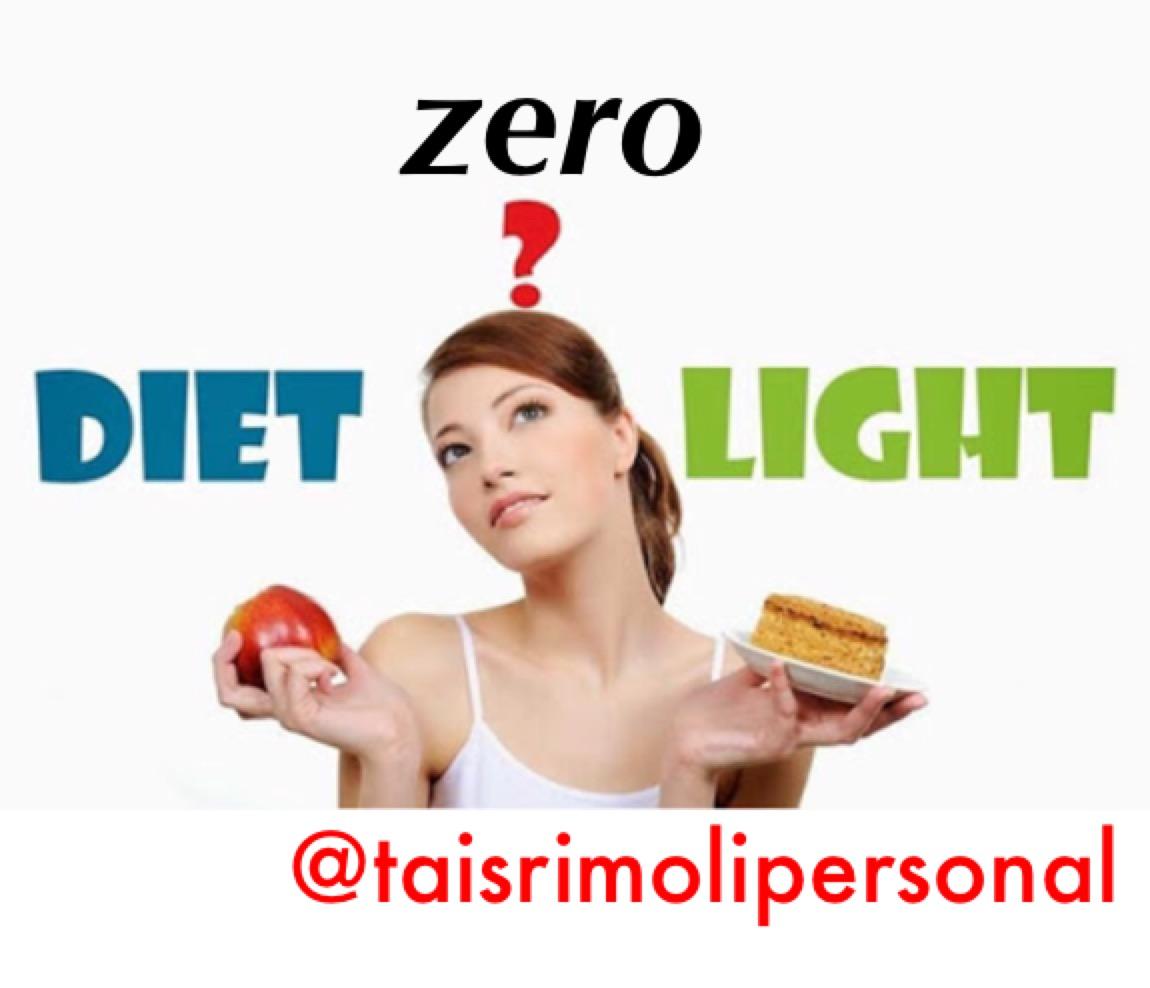 Diet, light e zero. Qual a diferença?
