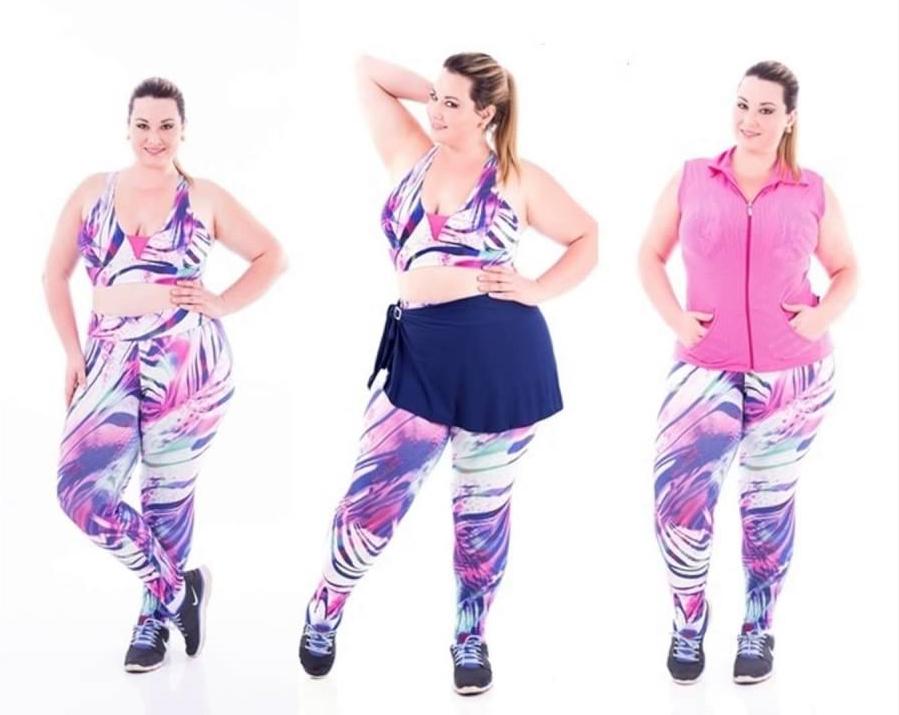 a91bcd65c Como usar roupas fitness plus size na academia e no dia a dia