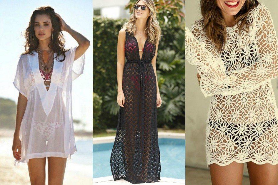 Moda verão: conheça os diferentes modelos de saída de praia para curtir o verão com mais charme