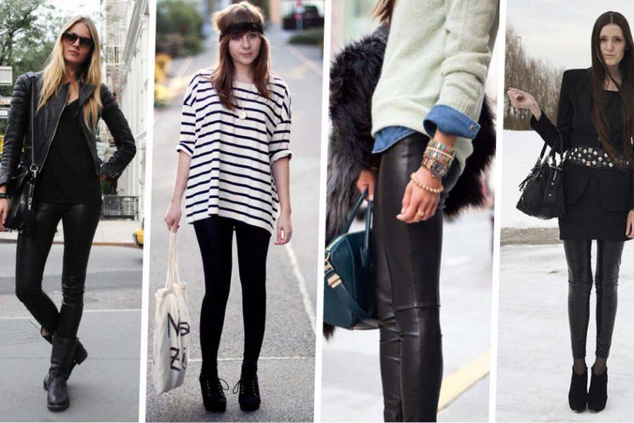 Looks de inverno: saiba como ter a calça legging como peça curinga nas épocas mais frias do ano